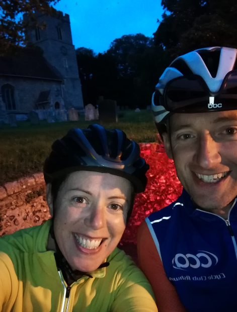 Jenny and David Wells cycled 165 miles between them for Bike 'n Hike. See their story and others on our news page
