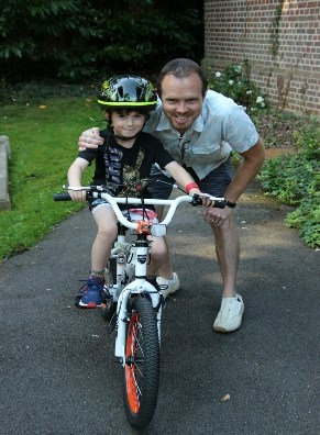 Jack and his dad took part in last year's Bike 'n Hike. Despite Coronavirus Bike n Hike went ahead on Saturday 12 September. Thank you for helping make it a big success.